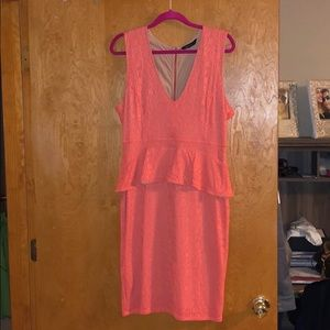 Peplum BCBGMaxazria dress